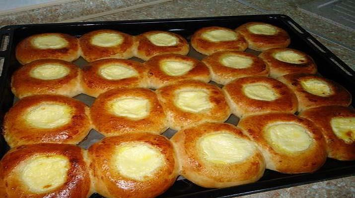 Пирог с творогом и сыром в духовке рецепт